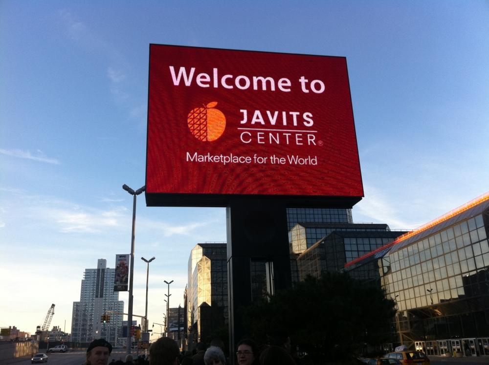 Javits sign